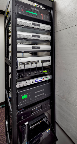 King Systems - Brighton City Hall #9 - AV Rack