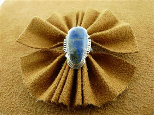 Navajo Crested Butte Lapis ring size 6
