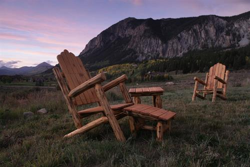 The Crested Butte Chair is a Butte!