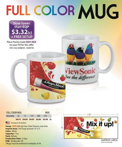 Full Color Mug Special