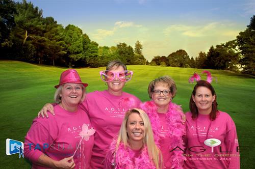 Golf Event with greens background - Susan G. Komen Atlanta
