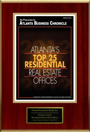 Atlanta's  Top Residential Real Estate Office