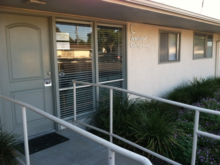 Front of Arensdorf Chiropractic a Santa Maria Chiropractic office