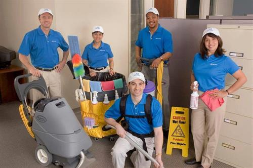 Jan Pro Owner Operators provide the highest level of commercial cleaning.