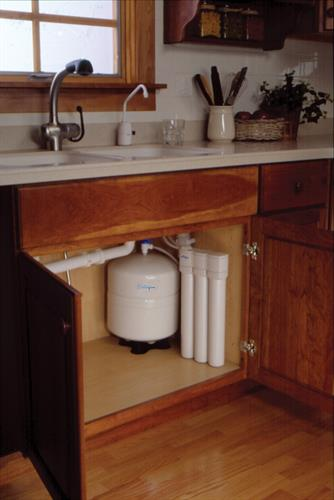 Reverse Osmosis Systme installed