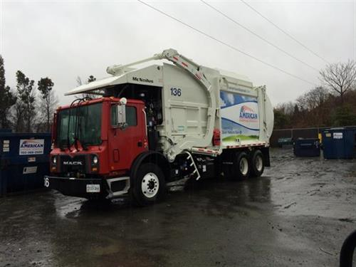 First Natural Gas (CNG) Waste and Recycling Trucks in Northern VA