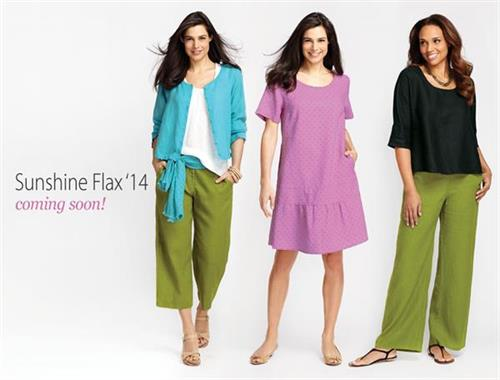 Flax Clothing 2014