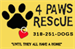 4 Paws Rescue, Inc.