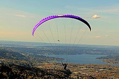 Paragliding in Issaquah