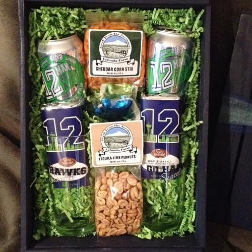 Seahawks Beer Crate
