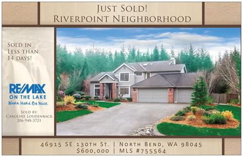 North Bend Riverpoint Home