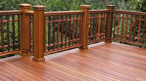 Exotic Hardwoods and Cedar decking