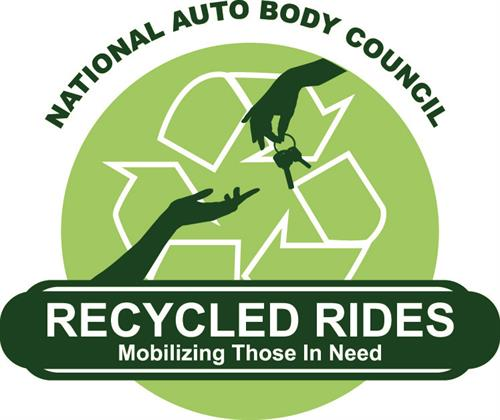 Recycled Rides is a unique program in which insurers, collision repairers, paint suppliers, parts vendors and others collaborate to repair and donate vehicles to deserving individuals and service organizations in local communities throughout the country.
