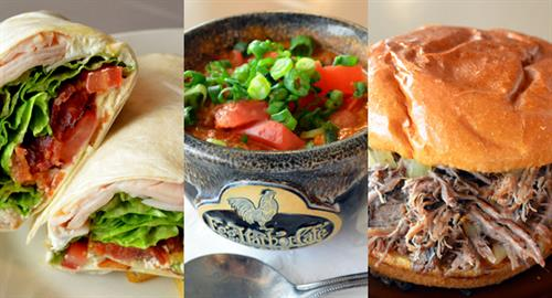 EHC Catering - Roll-ups, Chili & Pot Roast Sandwiches