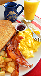We're here to serve you the best breakfast in the Chicagoland area.