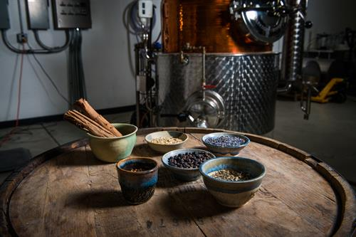 Handmade spirits with a custom pot still and the finest ingredients