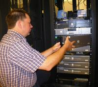 Joey servicing server for local county government