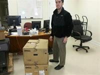 Tyler delivering devices to local city government