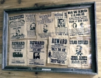 replicas of old wanted posters