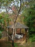 Gazebo in Spring - have breakfast for two here