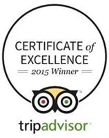 We are a Trip Advisor award winner