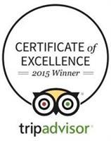 We are a Trip Advisor award winner