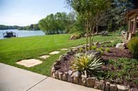 Garden with Perennials, Shrubs and Rock edging