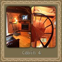 Cabin 4 ( 2 Bedroom with Hot Tub)