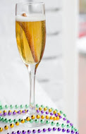 Creole Royale: Clément Creole Orange Liqueur, Rum, and Champagne.