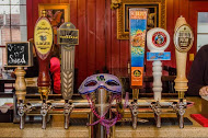"Our downstairs bar, the ""Bottom,"" features craft beer on draft. Ask about our rotating taps!"