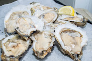 Apalachicola Oysters (offered raw, baked, fried, Rockefeller, or Casino)