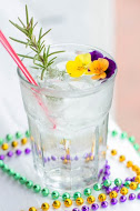 Rosemary Gin Cocktail: Southern Gin, Rosemary-Citrus Infused Simple Syrup, and Club Soda.