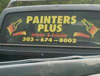 Call Painters Plus at 303-674-8002 !