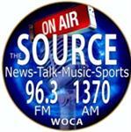 WOCA ''The Source''1370 AM / 96.3 FM NewsTalk Radio