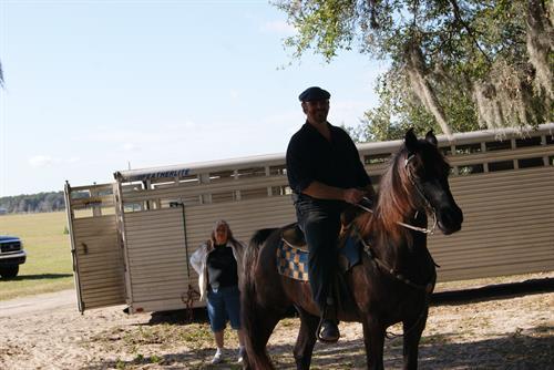 Live Remote on Horse back