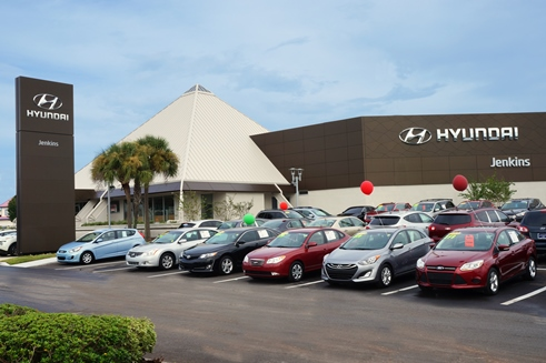 Beautiful Jenkins Hyundai Of Ocala, 1602 SW College Rd.,Ocala, FL 34471.
