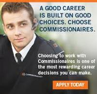 Become a Commissionaire