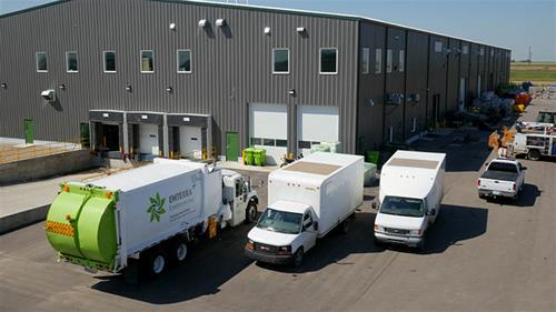 Emterra, the City of Regina's curb side recycling contractor opened the doors to its sorting complex at the GTH in 2013.