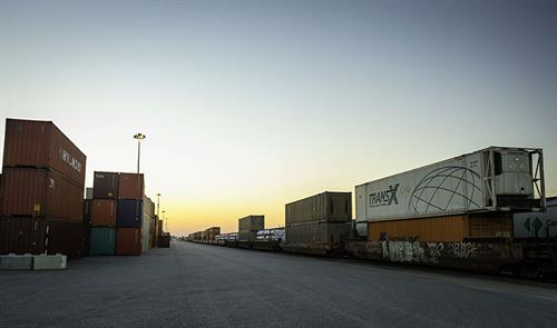 CP Rail's 300-acre intermodal facility at the GTH has been in operation since January 2013.