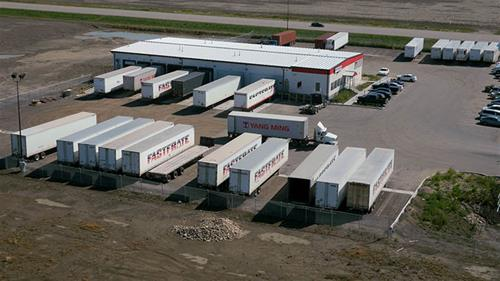 Consolidated FastFrate (CFF) offers cross dock and less-than-load trucking services at the GTH.