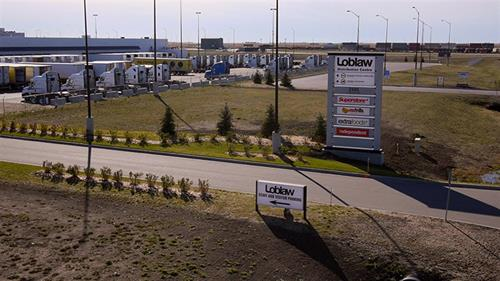 Loblaw built a 1-million square foot distribution center at the GTH to serve its western Canadian market.