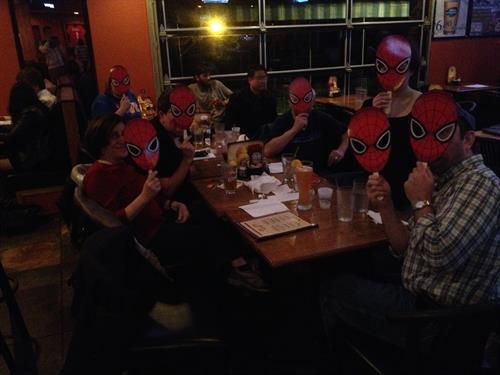 Amazing Spiderman 2 Pre-Release Party