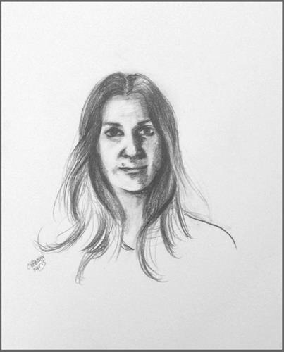 Graphite Portraits: one-of-a-kind drawing14x18; created during one 2 hour live session.