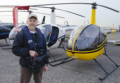 Aerial videography assignment for Kitsap Transit.