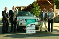Donation of Toyota Highlander Hybrid to North Cascades Institute