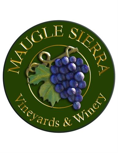 Maugle Sierra Vineyards Sign