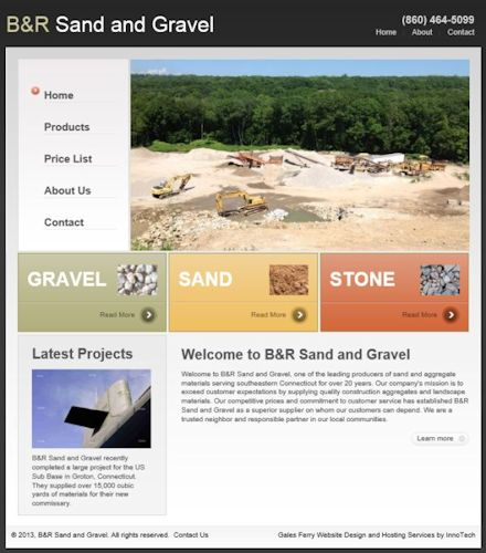 B&R Sand and Gravel, Gales Ferry CT