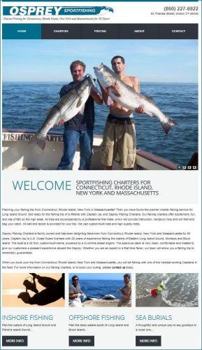 Osprey Fishing Charters, Groton CT