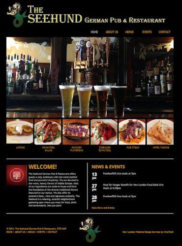 Seehund German Pub & Restaurant, New London CT