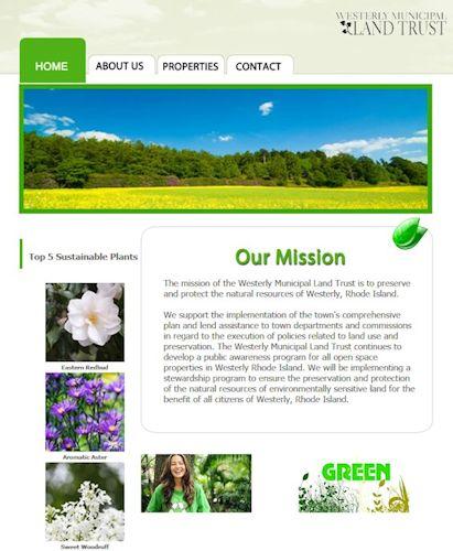 Westerly Municipal Land Trust, Westerly RI